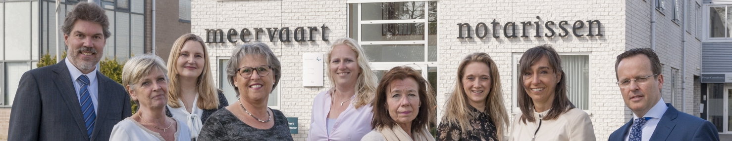 Team van experts Meervaart notarissen